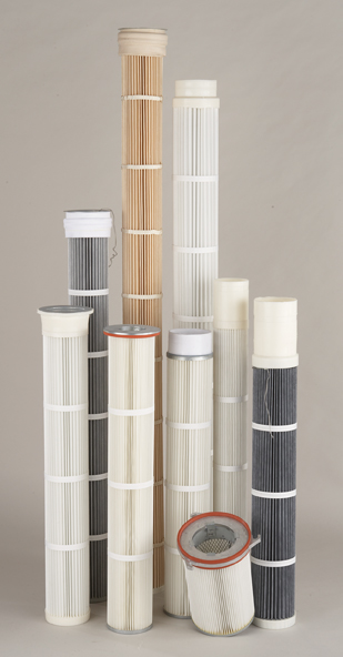 Standard Filter supplies aftermarket replacement filter cartridges for numerous OEM collectors.